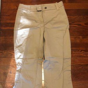 H&M straight leg khaki pant